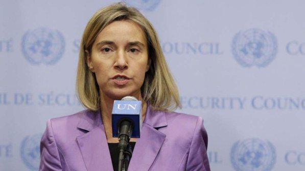 Siria, Mogherini: nuova spirale violenza mette a rischio i negoziati